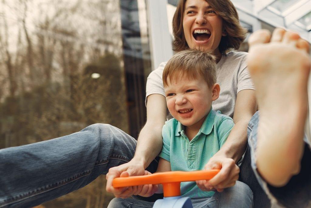 Als dove ouder kletsen met je kind(eren)