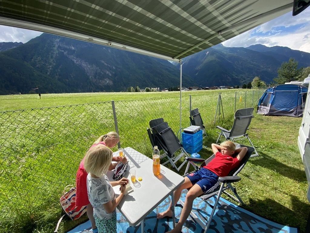 Campervakantie met kinderen Camping Oostenrijk