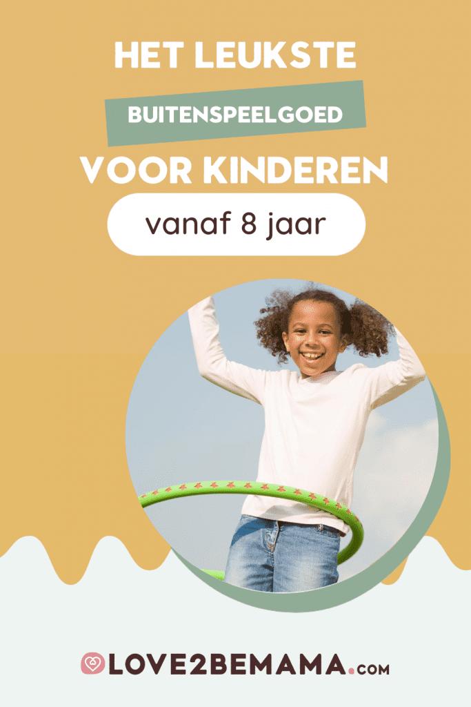 Buitenspeelgoed voor kinderen van 8 jaar