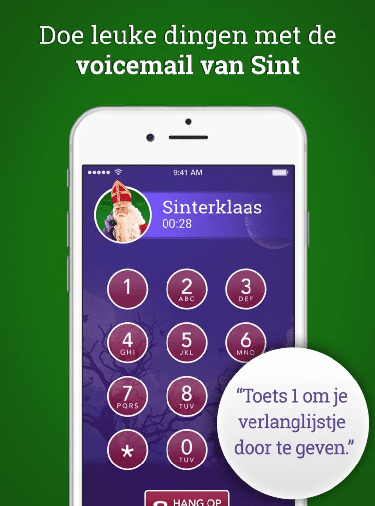 Gratis bellen met Sinterklaas
