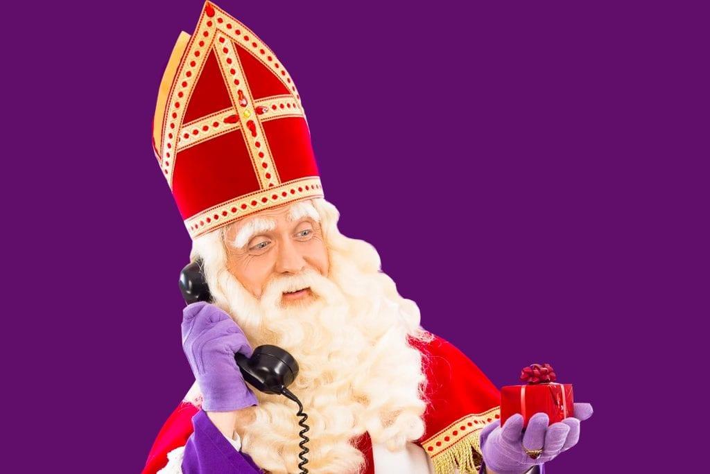 Tip: Gratis bellen met Sinterklaas