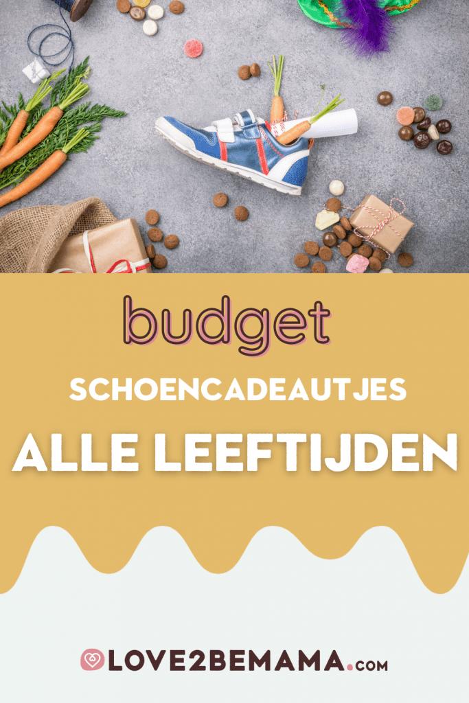 Schoencadeautjes Sinterklaas budget