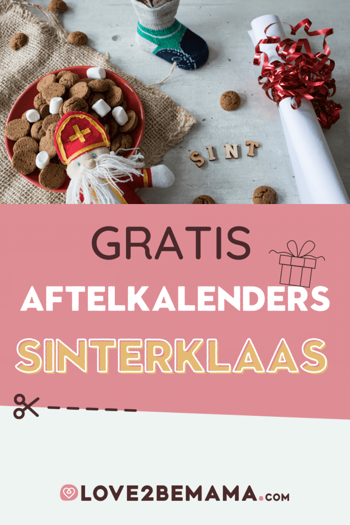 Aftelkalender Sinterklaas 2020