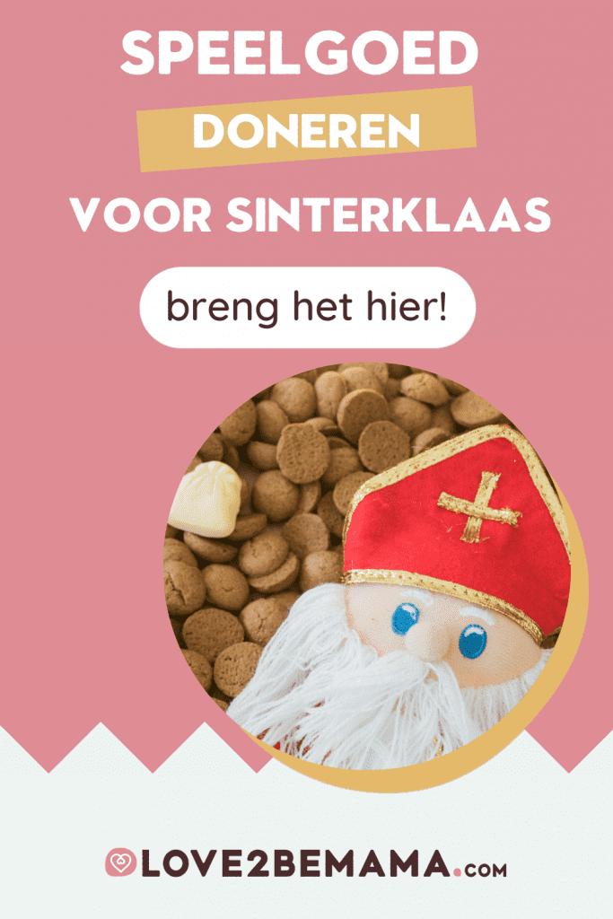 Speelgoed doneren voor Sinterklaas