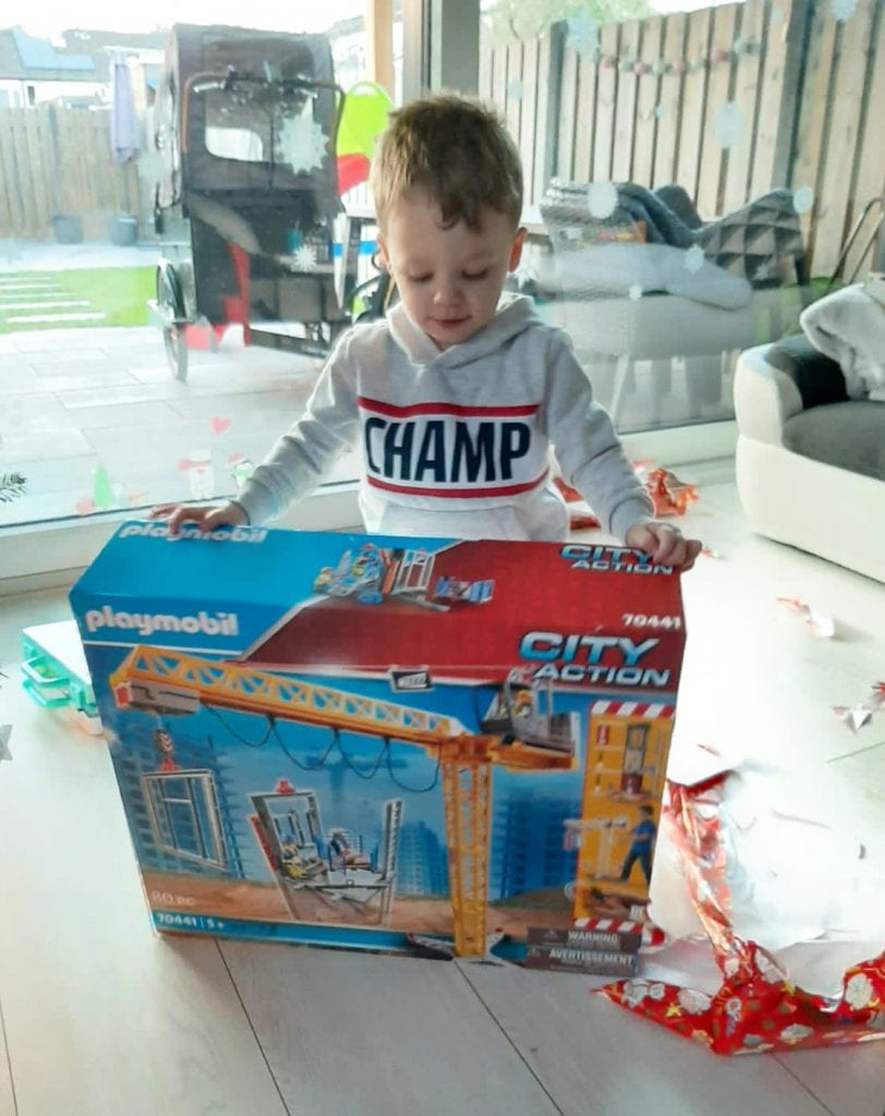 Playmobil City Action Bouwplaats uitpakken