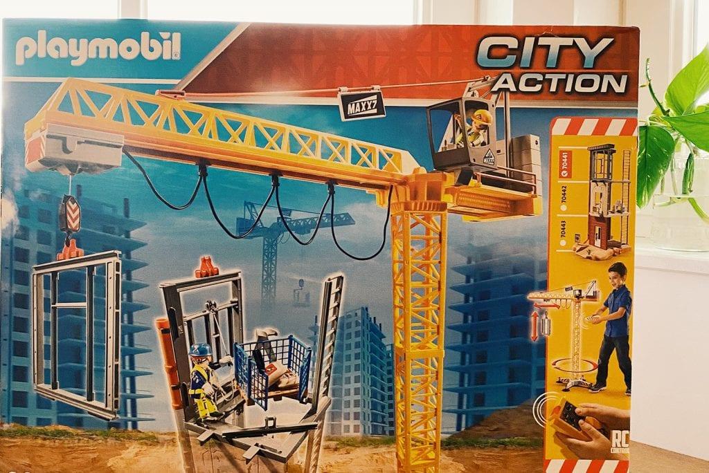 Playmobil City Action bouwplaats: met 80 onderdelen!