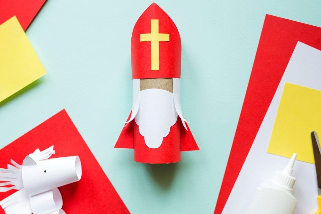 Sinterklaas knutselen: 5 inspiratietips voor knutselwerkjes