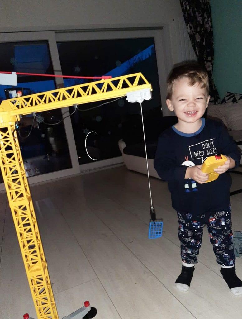 Spelen met Playmobil City Action bouwplaats