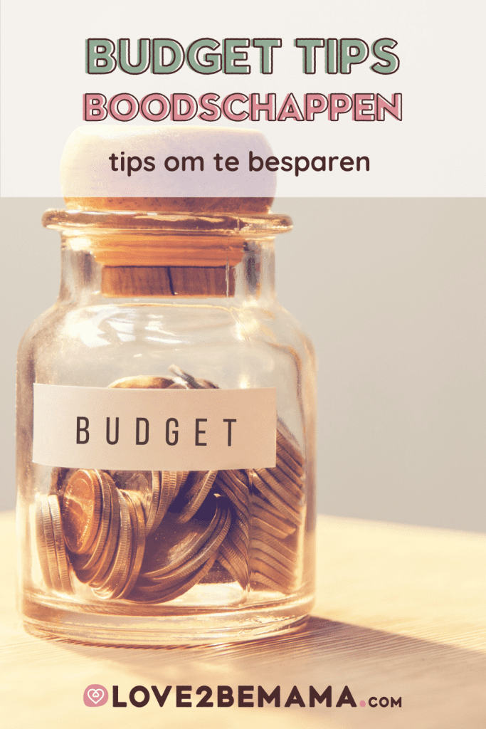 Budgettips boodschappen