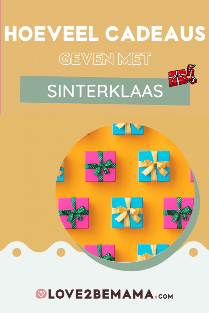 Hoeveel cadeaus geven voor Sinterklaas?