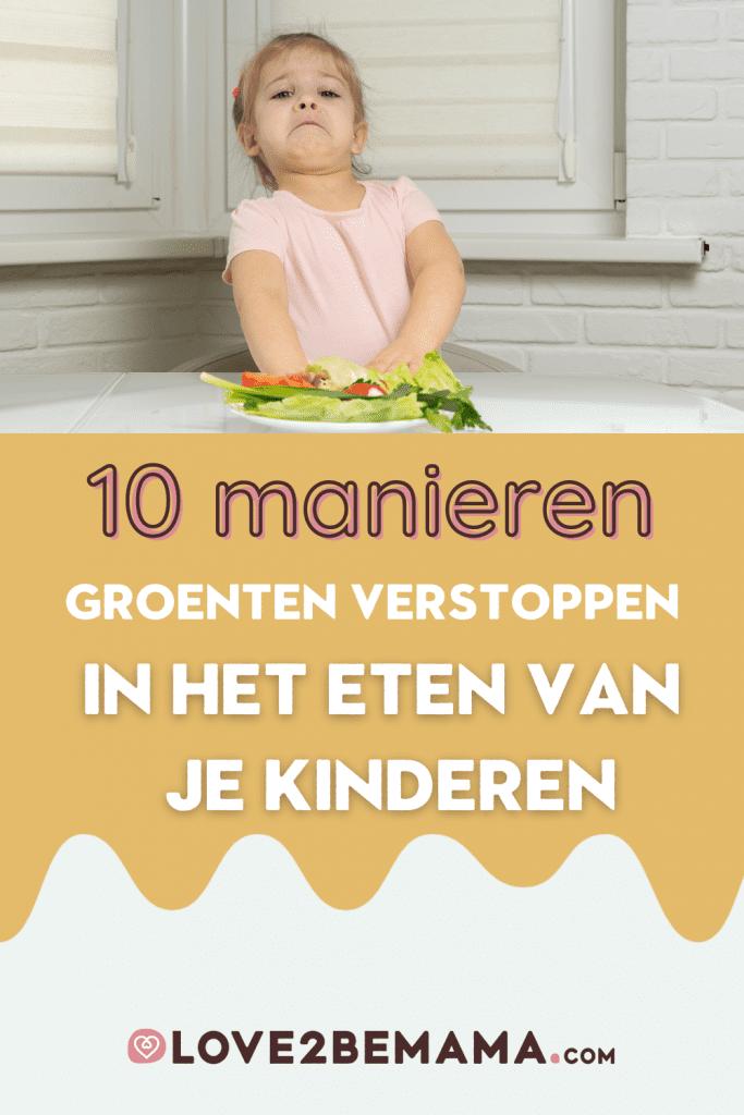 Kinderen groenten eten