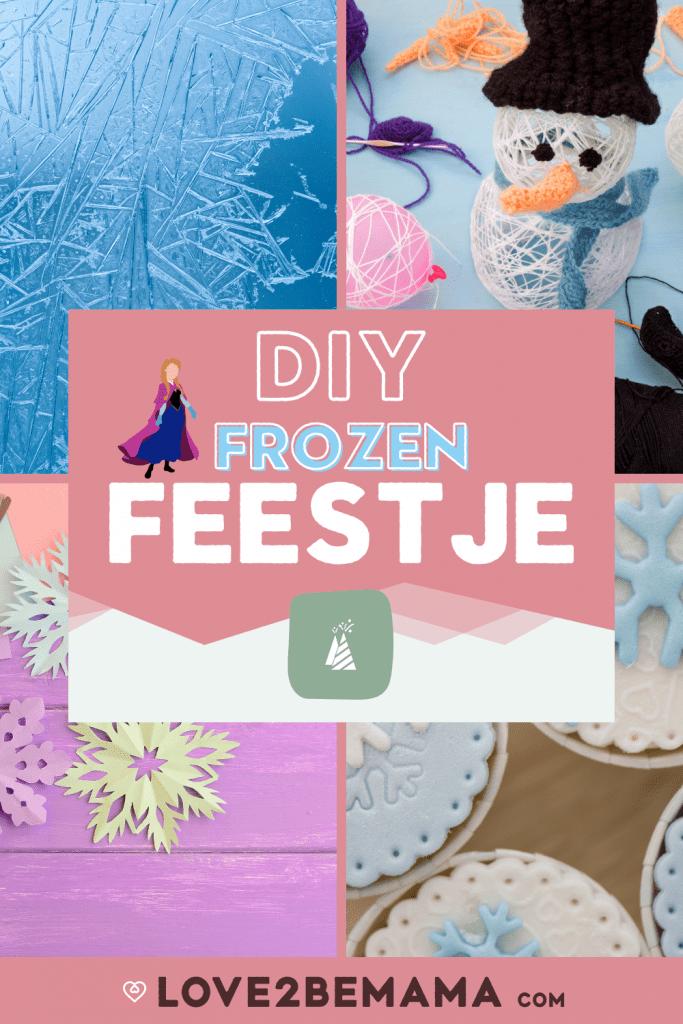DIY Frozen kinderfeestje