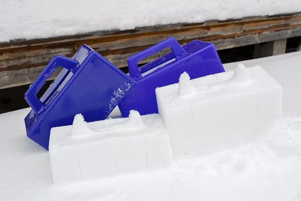 Sneeuwspeelgoed: de iglomaker