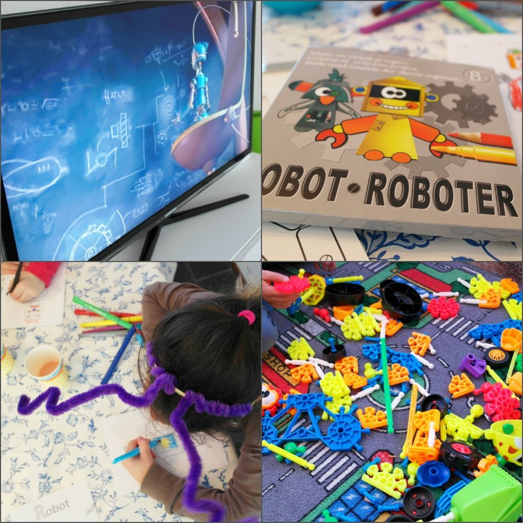 Robot kinderfeestje