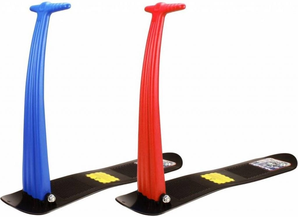 Sneeuwspeelgoed: De sneeuwscooter