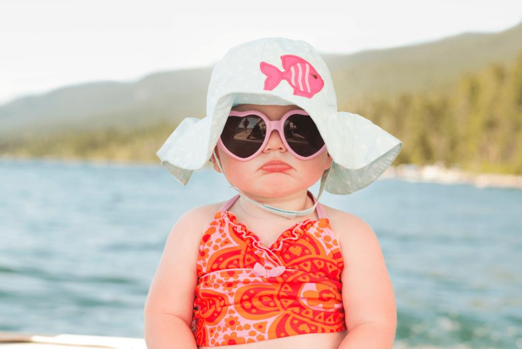 Zonnebrand voor je baby en tips voor het gebruik