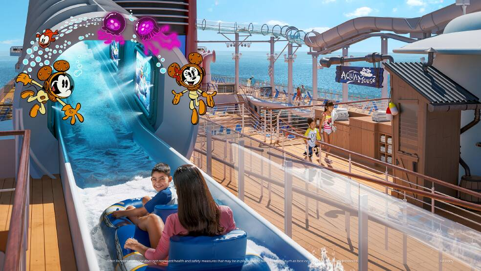 Disney Wish Cruise: attracties