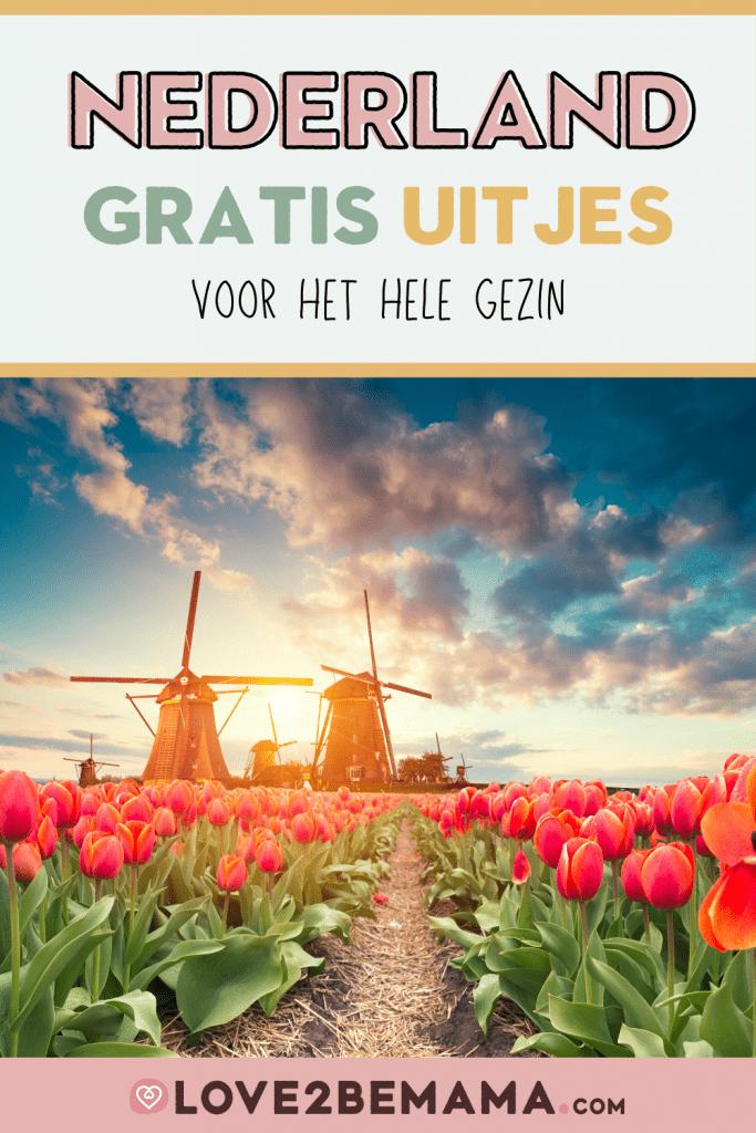 Gratis uitjes in Nederland voor het hele gezin