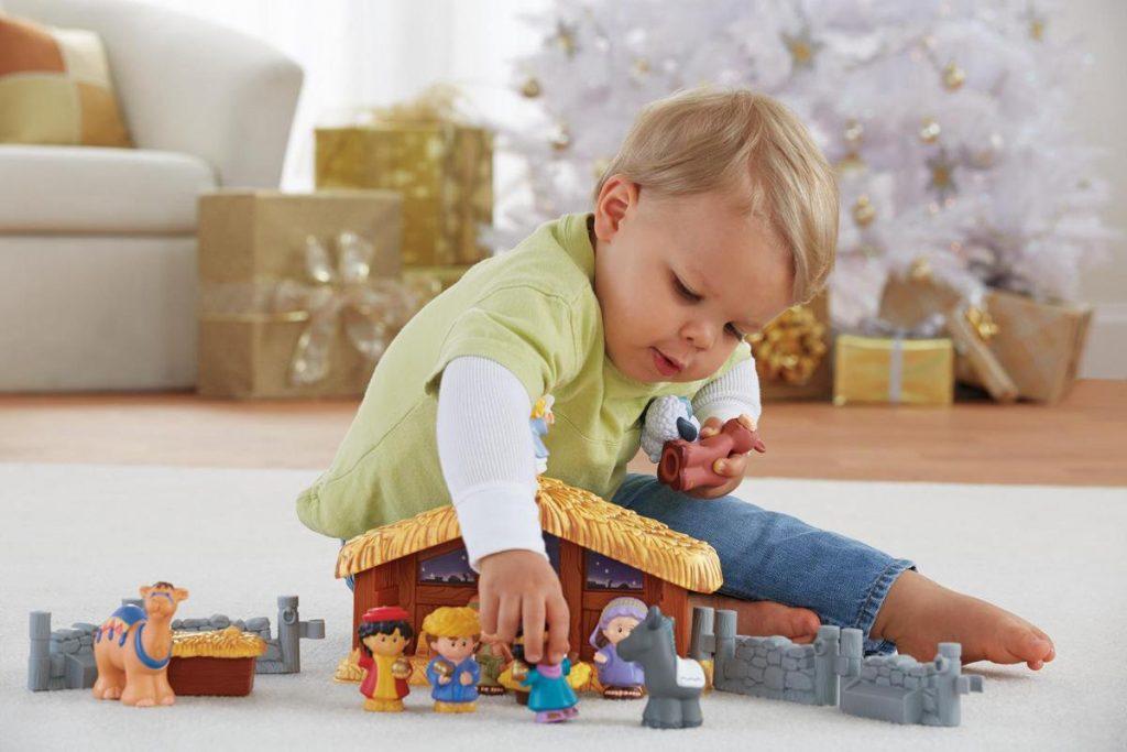 Leuke kerststallen voor kinderen: Little People