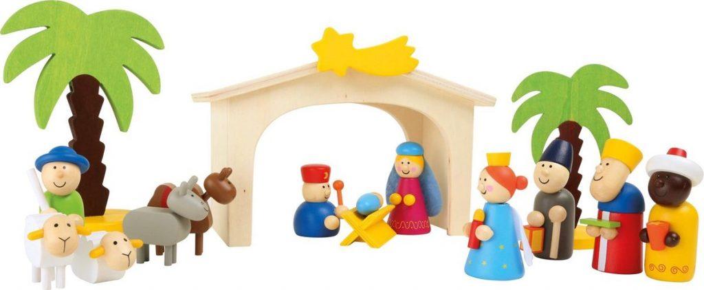 Leuke kerststallen voor kinderen: van hout