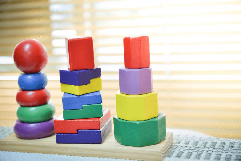 Houten speelgoed en hoe duplo schoonmaken?